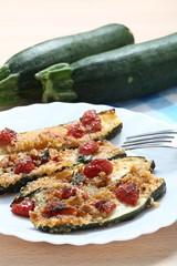 Zucchine grigliate con pomodorini