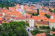 Old upper town in Zagreb