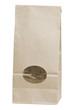 brown disposable paper bag