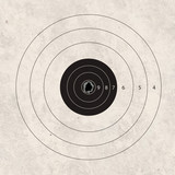 shoot target accuracy focus poster