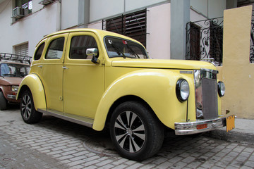Havana yellow car #2