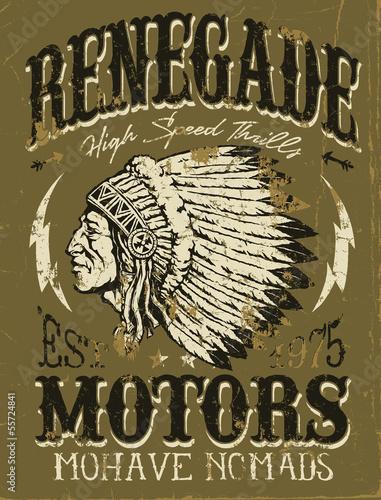 Vintage Americana Motorcycle Design