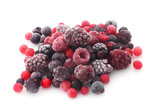 Fototapeta Frozen Berries