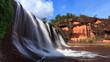 Hole waterfall