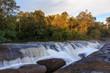 Cross waterfall