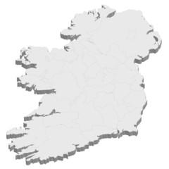 アイルランド 地図 国