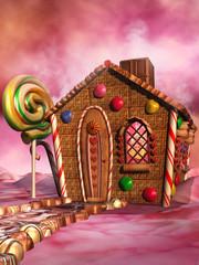 Domek z piernika i czekolady