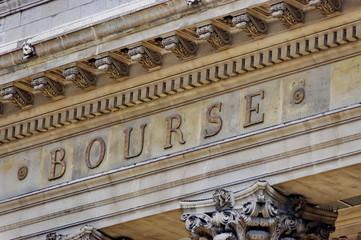 La Bourse, Paris.