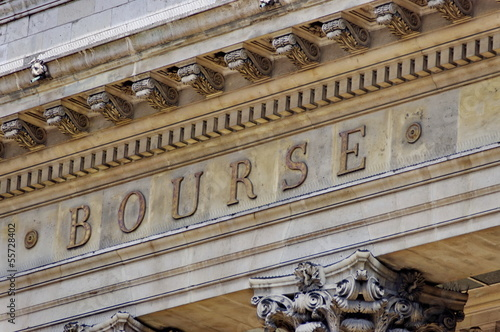 La Bourse, Paris.