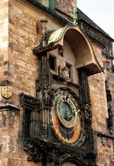 Astronomical Clock. Prague. Czech Republic.