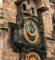 Astronomical Clock. Prague. Czech Republic.