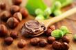 Schokolade,Haselnüsse