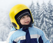 Child skier portrait