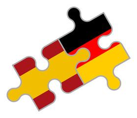 Spanisch-Deutsches Puzzle