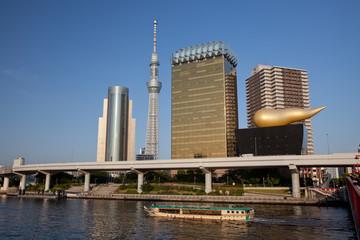 Sumida Skyline with Tokyo Sky Tree 2013