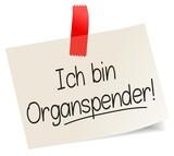 Ich bin Organspender