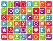 Vector Application Web Icons Set in Flat Design