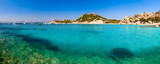 Clear turquoise water of Cala Corsara in Sardinia