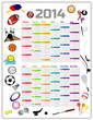 2014 Sport calendar