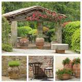 tuscan arbor collage