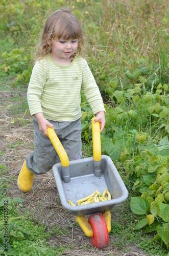 jeune jardinier