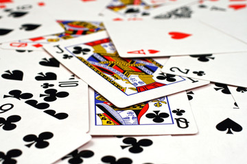 Playing Cards Close Up