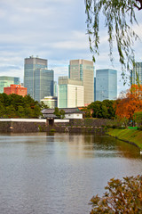Marunouchi with Imperial Palace