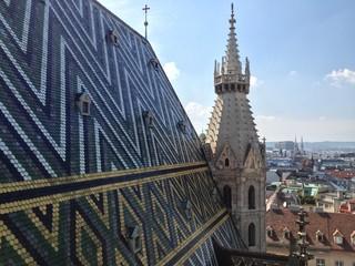 Stephansdom - St Stephens Cathedral in Vienna, Aistria.