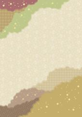 継ぎ紙 茶色
