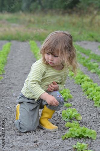 enfant de la campagne