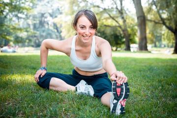 beautiful woman fitness