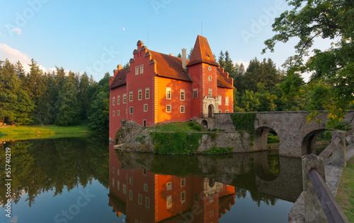 Fairy tale castle - Cervena Lhota