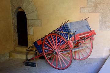 Carro Antiguo Español