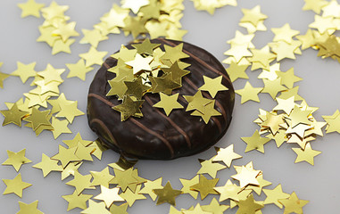 cake with little stars