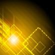 Shiny vector hi-tech background