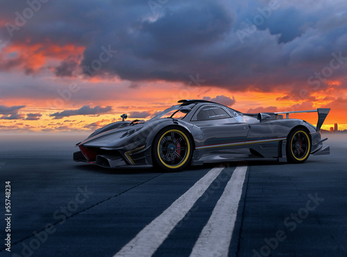 Staande foto Motorsport carscene 133