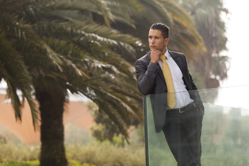 Businessman Outdoor