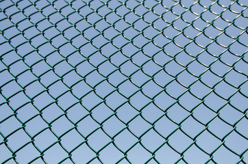 Image of part of a fence