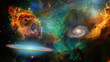 Leinwandbild Motiv Deep Space
