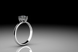 Diamonds ring - 55761053