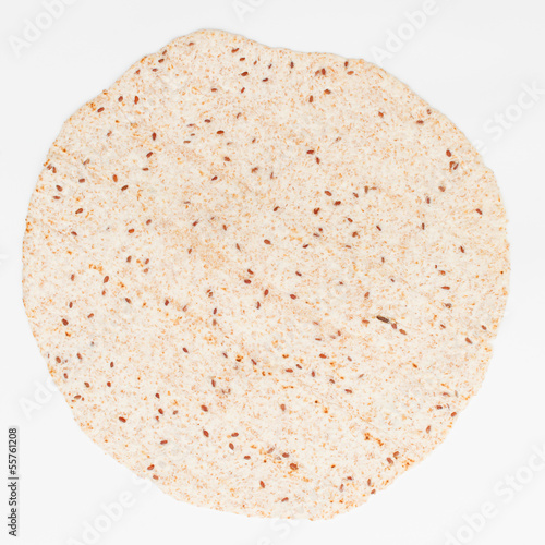 tortilla isolated