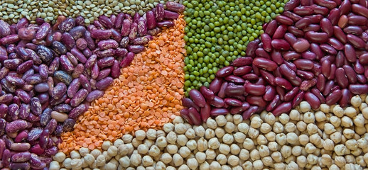 Beans, lentils and other legumes