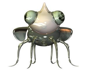 winziger Nanobot Vorderansicht