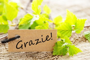 Label With Grazie