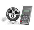 8 ball with calculator