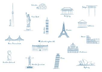 Landmark Icons_Pattern