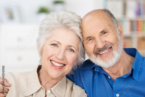 sympathisches älteres paar - 55767801