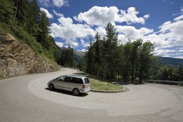 Italien, Südtirol, Jaufenpass