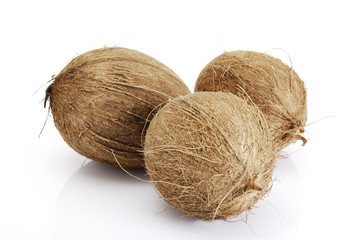 Kokosnüsse, Nahaufnahme