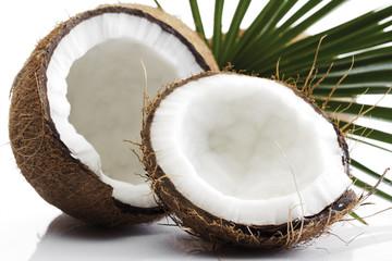 Split Kokosnüsse, Nahaufnahme
